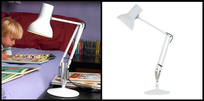 On fait comme les grands: on choisit une lampe Anglepoise